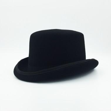 Haut de forme noir homme
