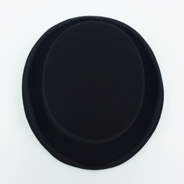 Haut de forme noir Femme
