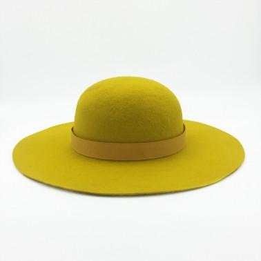 capeline moutarde chapeaux français