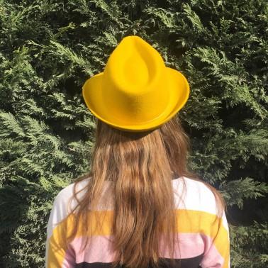 trilby moutarde chapeaux français