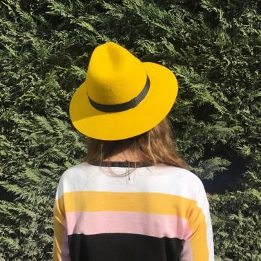 Indiana moutarde chapeau francais kanopi