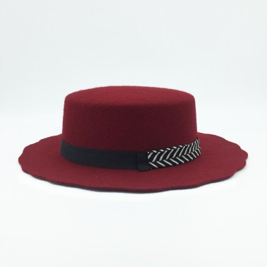 Canotier bord vague kanopi le chapeau francais