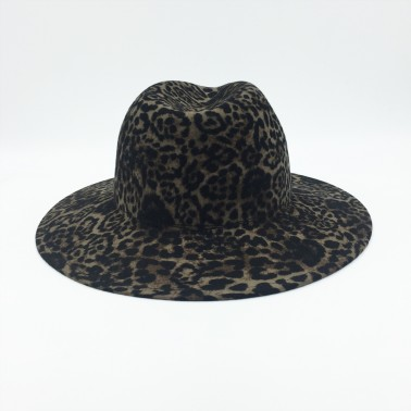 Indiana léopard kanopi le chapeau francais