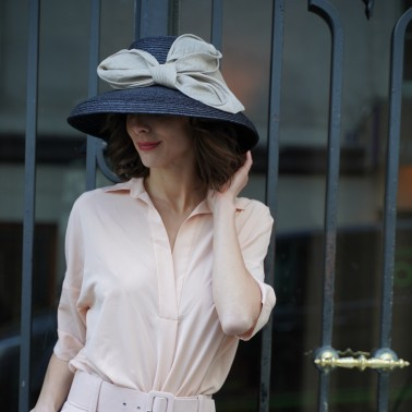 Chapeau Hepburn francais kanopi