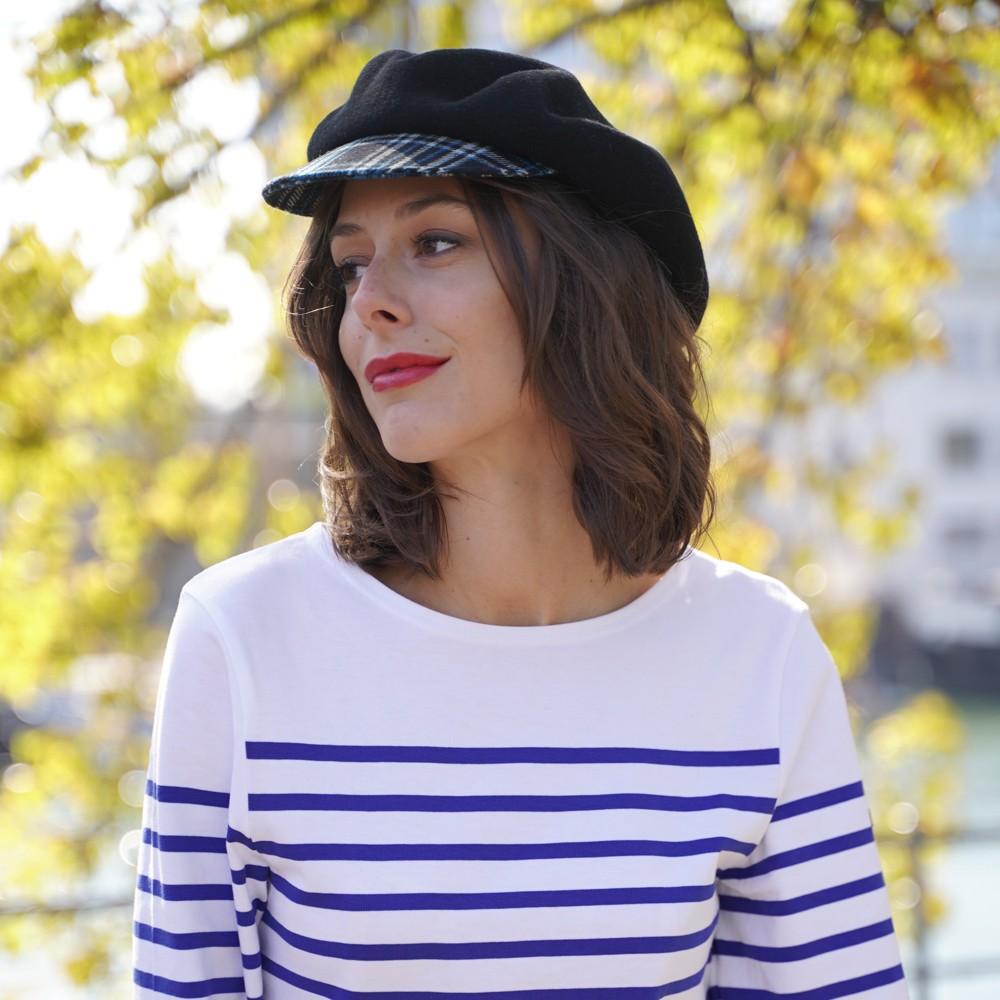 nouvelle arrivee comment acheter code de promo Béret Casquette tartan, Kanopi le chapeau francais depuis 1904