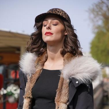 Casquette Mila Léopard kanopi le chapeau francais