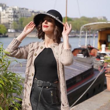 Cloche Mathilde léopard kanopi le chapeau francais