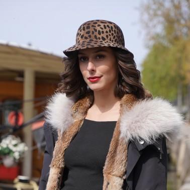 Manon léopard le chapeau francais kanopi
