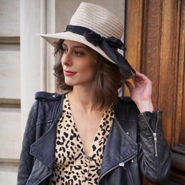 borsalino sisal tressé kanopi chapeau francais
