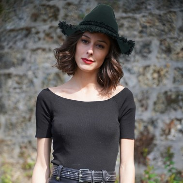 Indiana Milda tweed kanopi the french hat since 1904