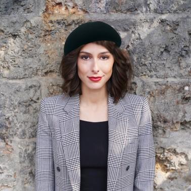 Bibi Laurène noir kanopi le chapeau francais
