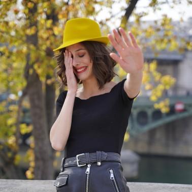 trilby moutarde kanopi le chapeau francais