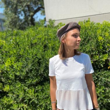 Béret Chic Tartan, Le béret français