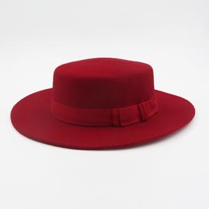 canotier rouge